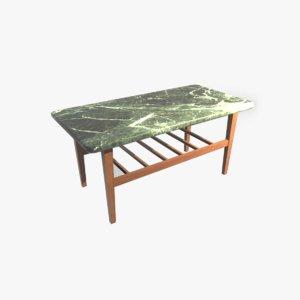3D model center table