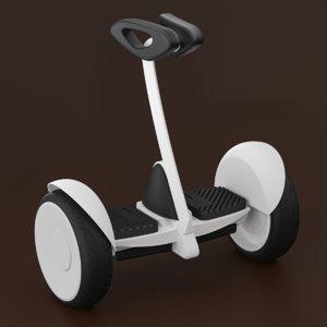 3D balance car model
