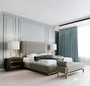 giorgio bed 3D model
