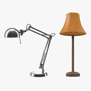 desk lamps 3D model