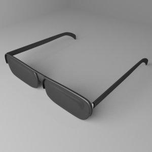 sunglasses 2 3D