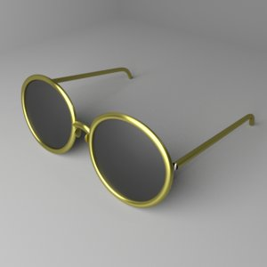 sunglasses 1 3D