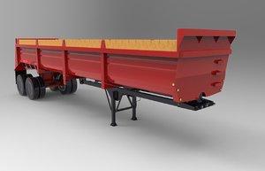 3D trailer lufkin 2000