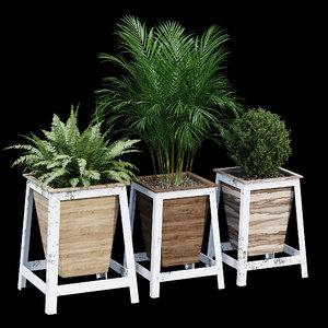 natural wood la 3D model