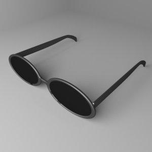 sunglasses 5 3D model