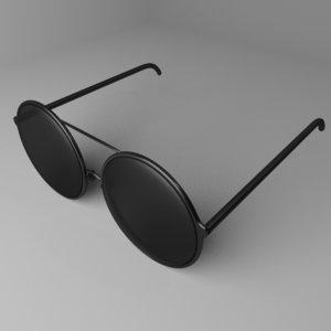 sunglasses 10 3D model