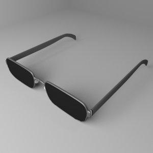 3D model sunglasses 7