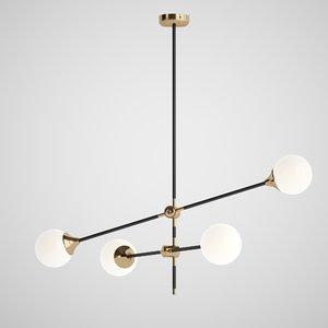 pell bubble chandelier model