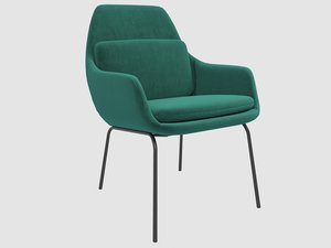signature armchair blasco vila 3D model