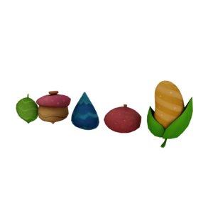seeds 3D model