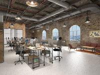 Loft office interior 3