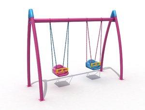 3D play equipment