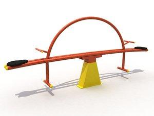 3D seesaw