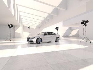 3D interior scene 01 v model