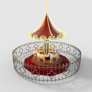 1 carousel 3D
