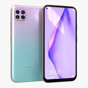 huawei p40 lite light 3D