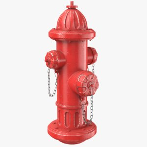 real hydrant 3D model