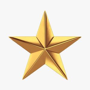 star gold 3D