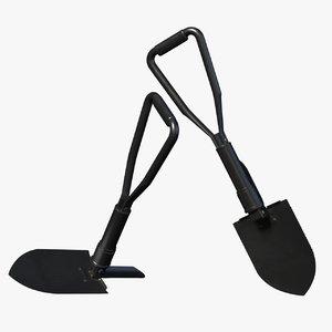 military shovel model