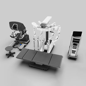 surgical da vinci 3D model