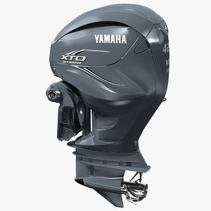 3D yamaha xto offshore f425a model