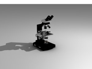 scientific microscope model