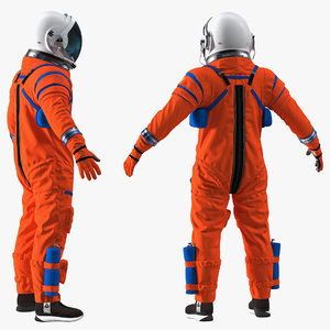 3D orion crew survival spacesuit