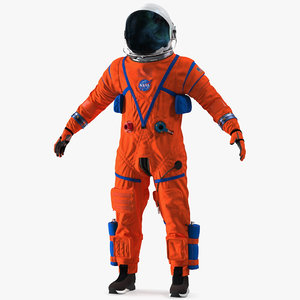 orion crew survival spacesuit model