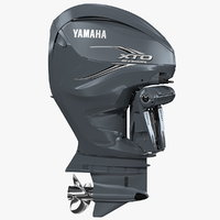 Yamaha XTO Offshore F425A Outboard Motor Rigged