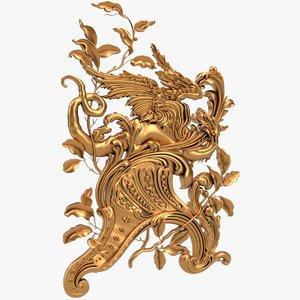 decor x17 dragon cnc 3D model