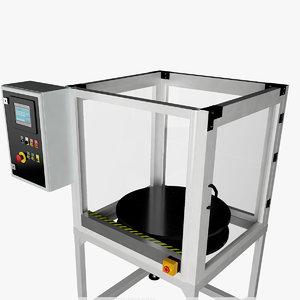 machine industrial 3D model