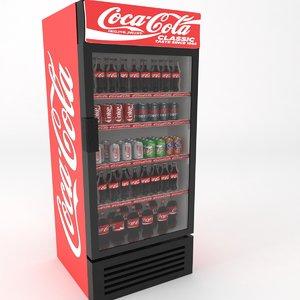soda fridges 3D model