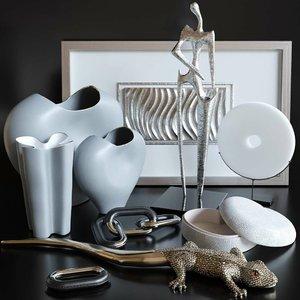 3D modern decor set