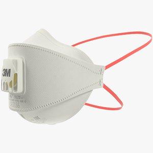 3m aura mask 3D model