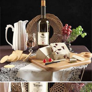 wine cheese model