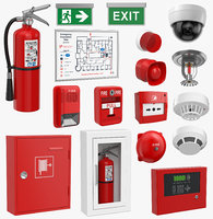 Fire Equipment Set