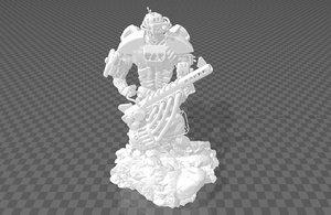cyberpunk medium 3D model