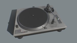 technics sl1200 mk2 turntable model