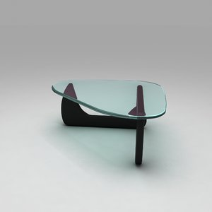 noguchi coffee table 3D model