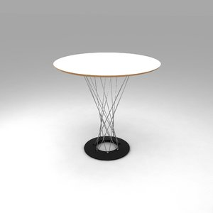 3D model cyclone dining table