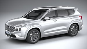 3D model hyundai santafe 2021