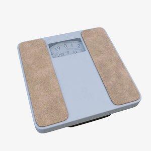 3D bathroom scales