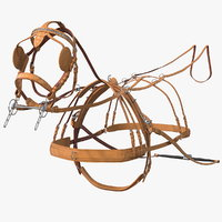 Leather Single Driving Harness