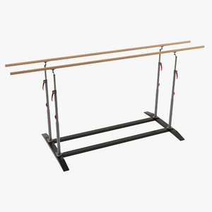 parallel bars 3D
