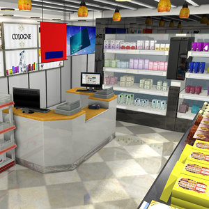 3D model duty shop