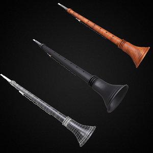 shehnai music instrument model