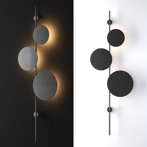 3D wall mounted lamp ambiente