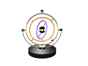 rotate magnetic swing kinetic 3D model