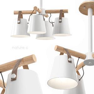 3D lampatron natura lamp model