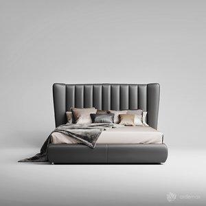 3D model dv home bed